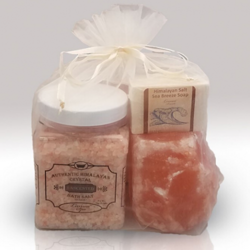 himalayan salt spa package